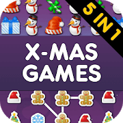 Christmas Games PRO - 5 in 1