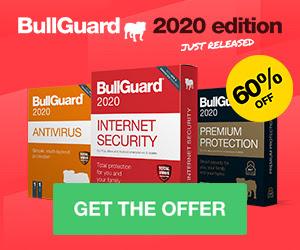 Get BullGuard Antivirus - 60% Off