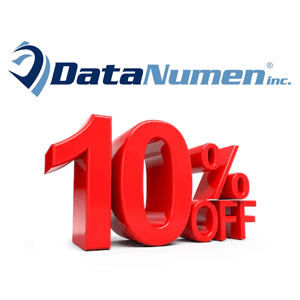 10% OFF DataNumen Products